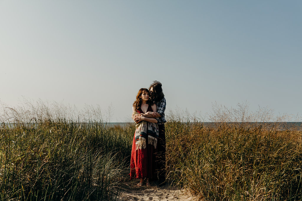 70's INSPIRED ENGAGEMENT SESSION | AIDAN + LINDSEY 100