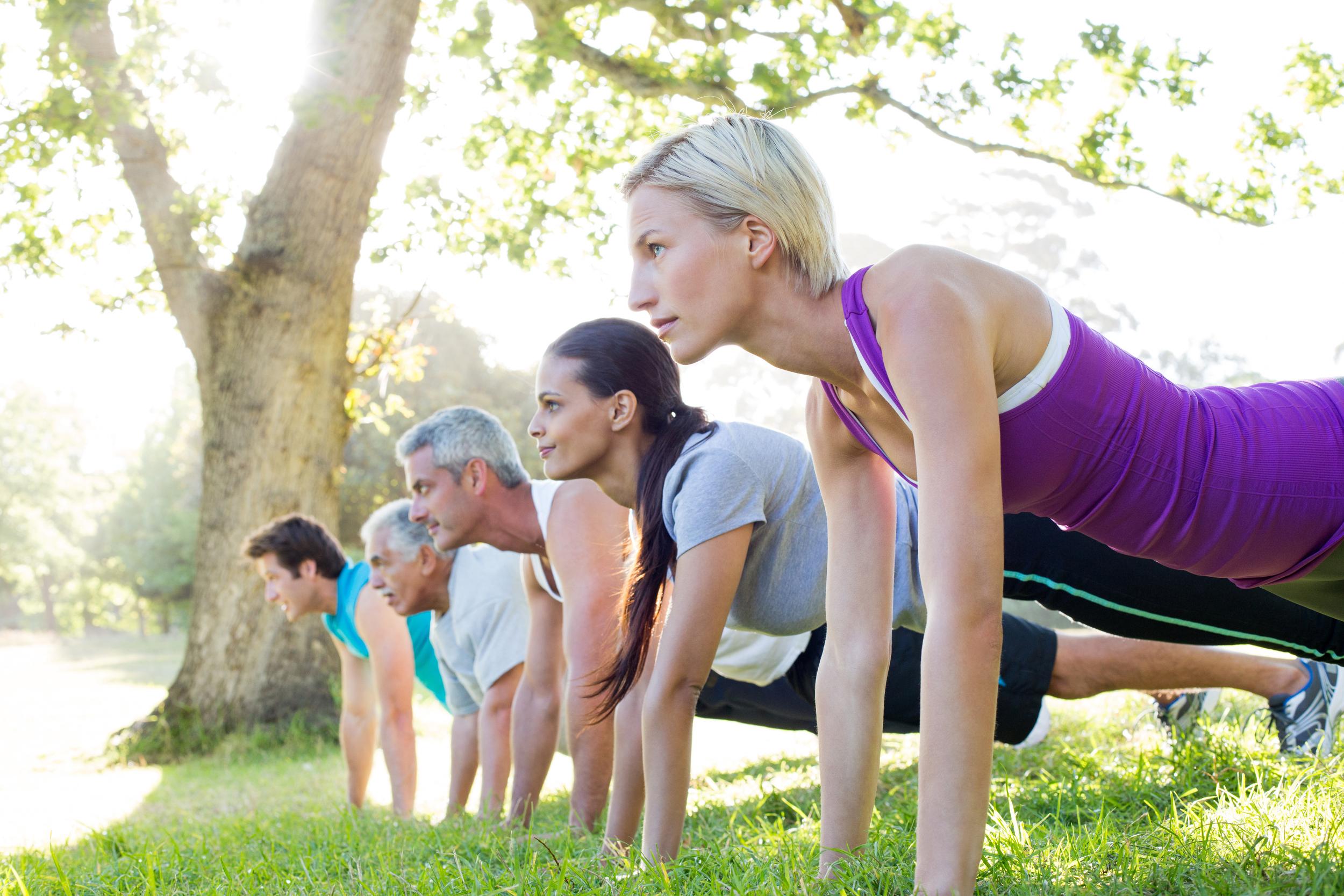 Outdoor fitness opportunities