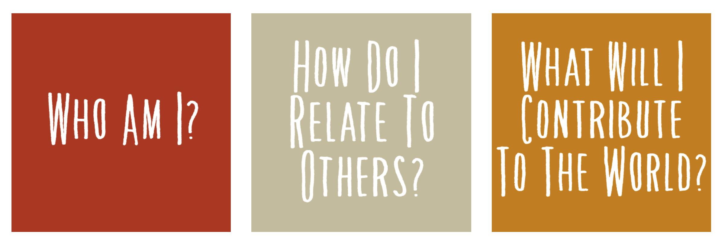 ミレニアム・スクールで生徒が向き合う3つの大きな問い (出典:ミレニアム・スクールウェブサイト)