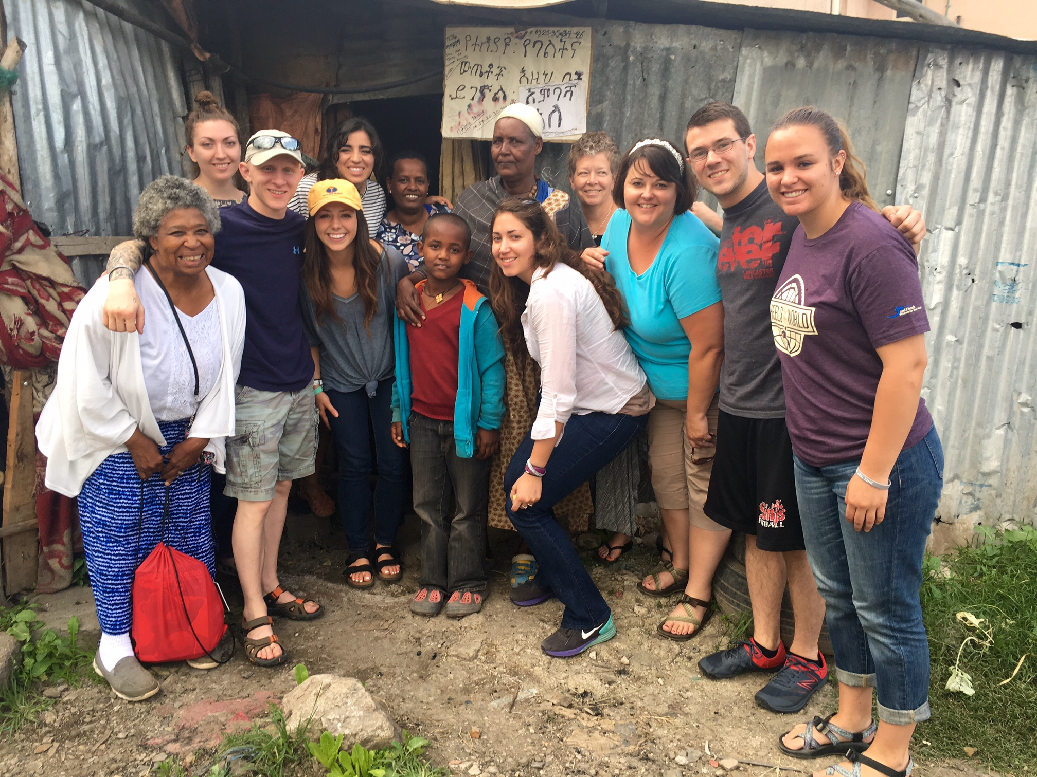June 2015: Yeshiwork and Moses with a Journey Trip team