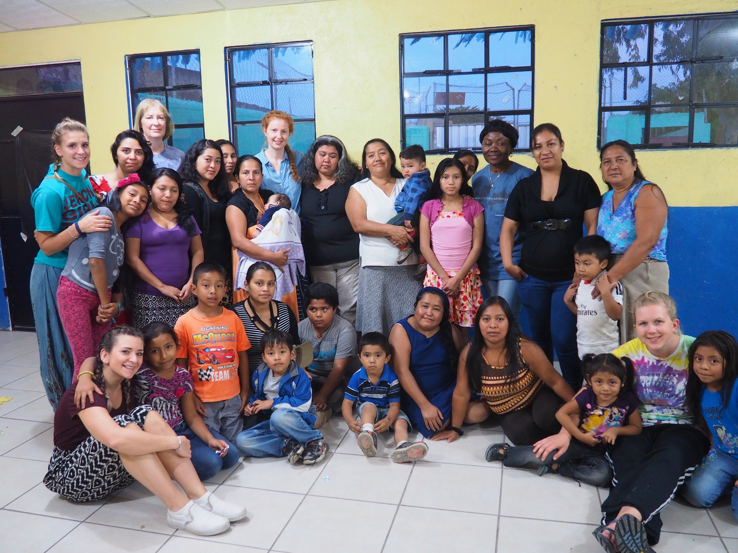 church partnership in Guatemala
