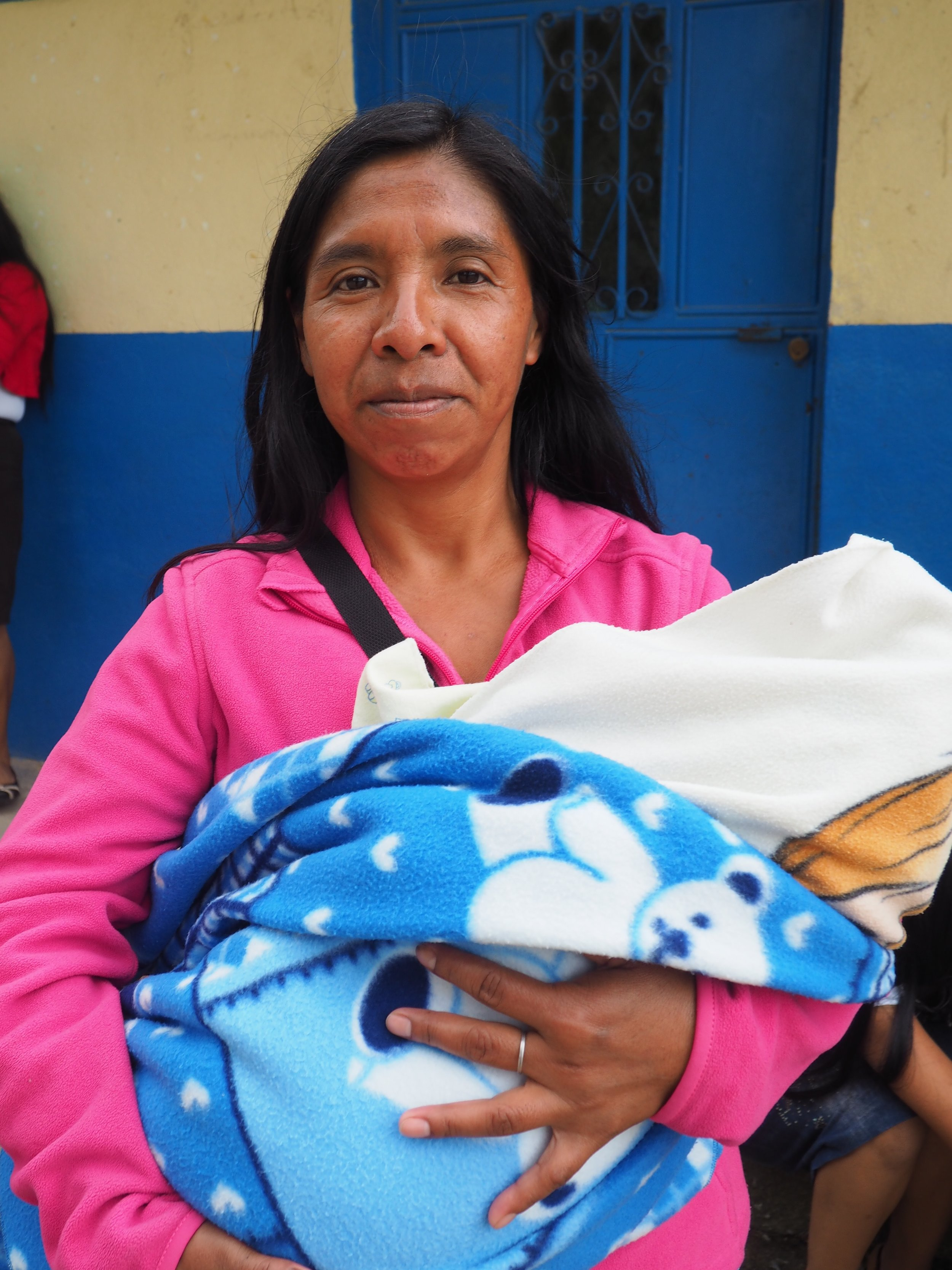 Guatemalan mother and child world orphans
