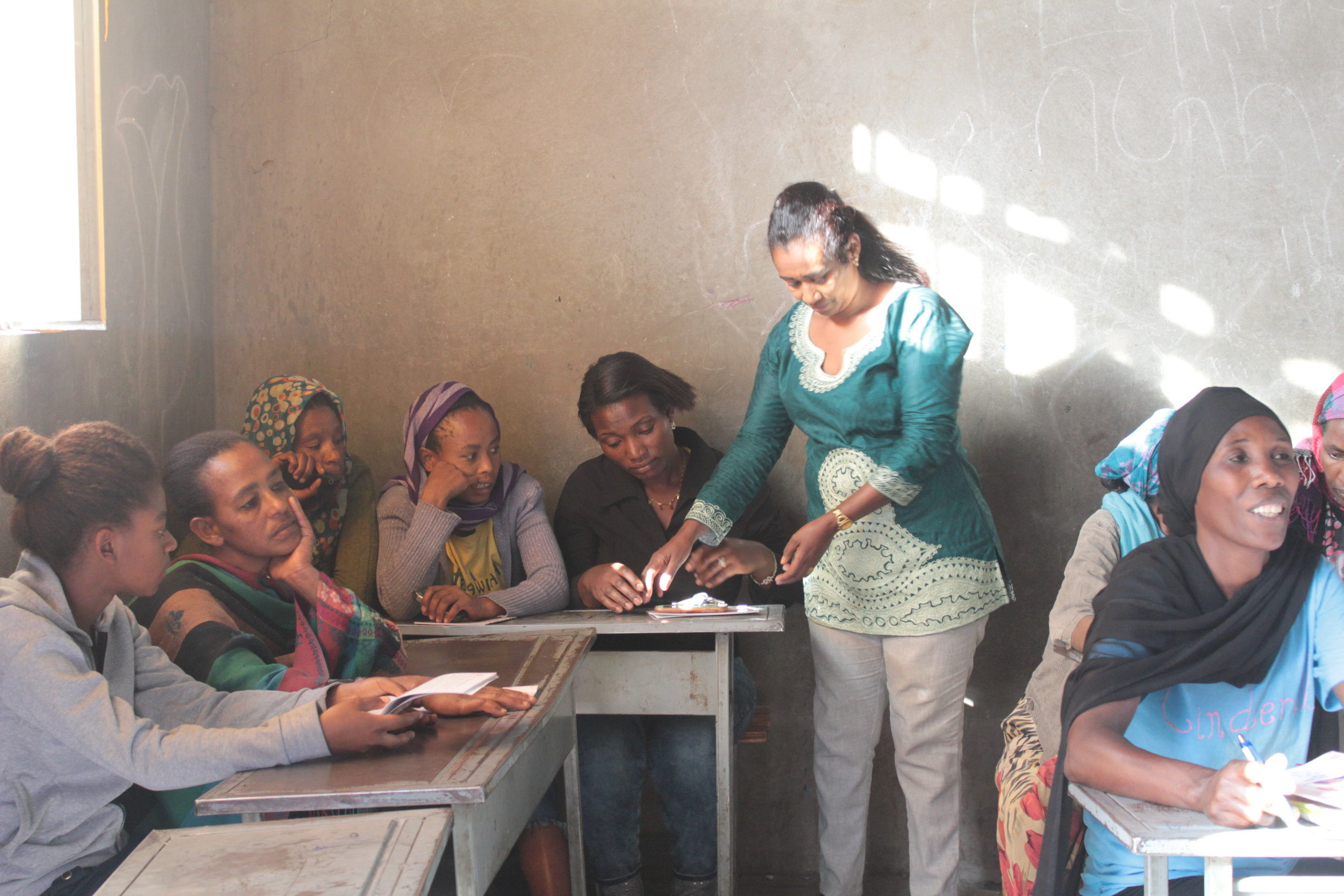 Training in Ethiopia being led by local women
