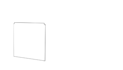 Side Panel - (D x W mm)398 x 394