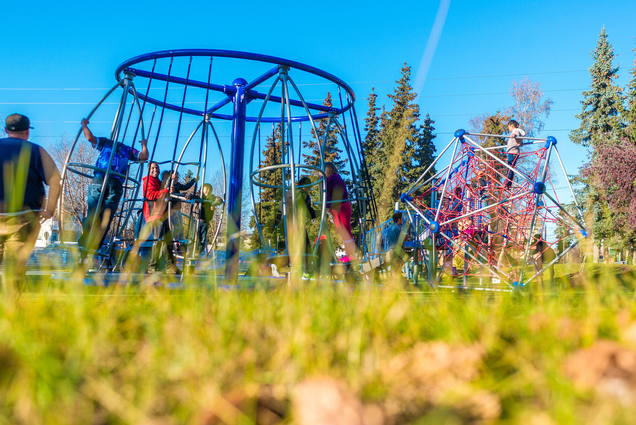The finished product: Duldida Park in Anchorage, Alaska