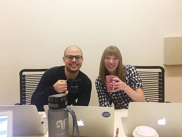 This dynamic duo is coming at you live in 5 for today's webinar! If you want to join, follow the link on our Twitter: @mySidewalkHQ
