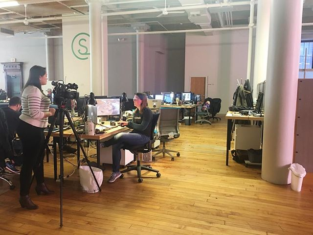Tune in to @41actionnews tonight at 6 to see the women of @my_sidewalk being featured in a #womenintech story. 😎