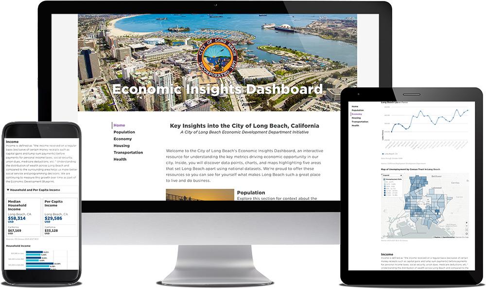 See Sample Economic Development Dashboard