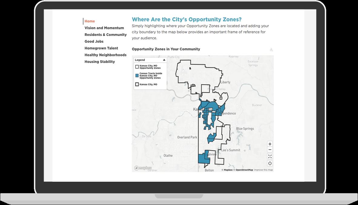 See Kansas City, Missouri's Opportunity Zone Prospectus