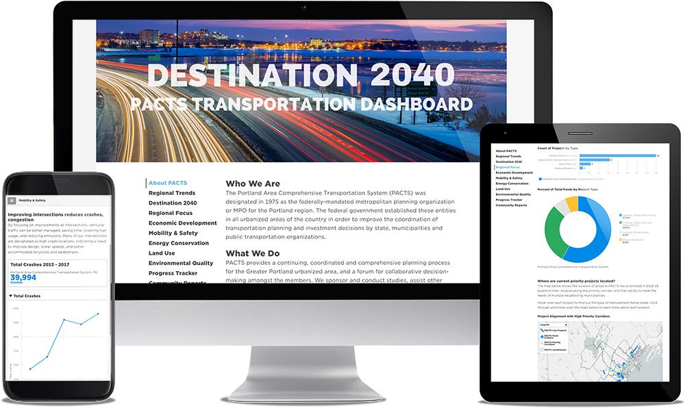 See Sample Transportation Dashboard
