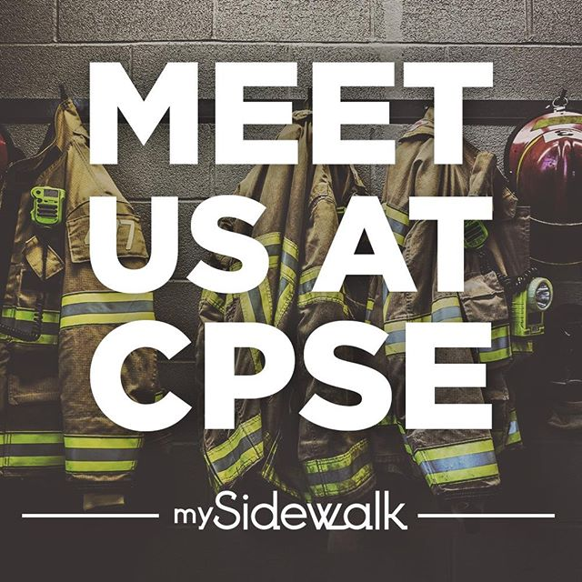 Are you going to the CPSE Excellence Conference next week? Our team will be there and would love to talk to you! Find us at Booth 10 during the event or direct message us to schedule some time. #mySidewalkFire