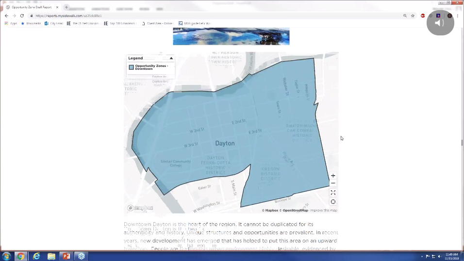Find the data story in your opportunity zones. - Watch our recent webinar to learn more about how the City of Dayton partnered with mySidewalk to find the data story in their opportunity zones.