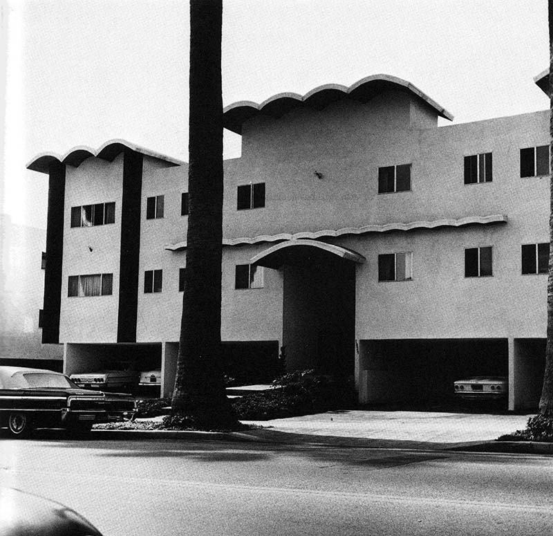 "Edward Ruscha, ""1029 S. Union,"" from   Some Los Angeles Apartments  , 1965"