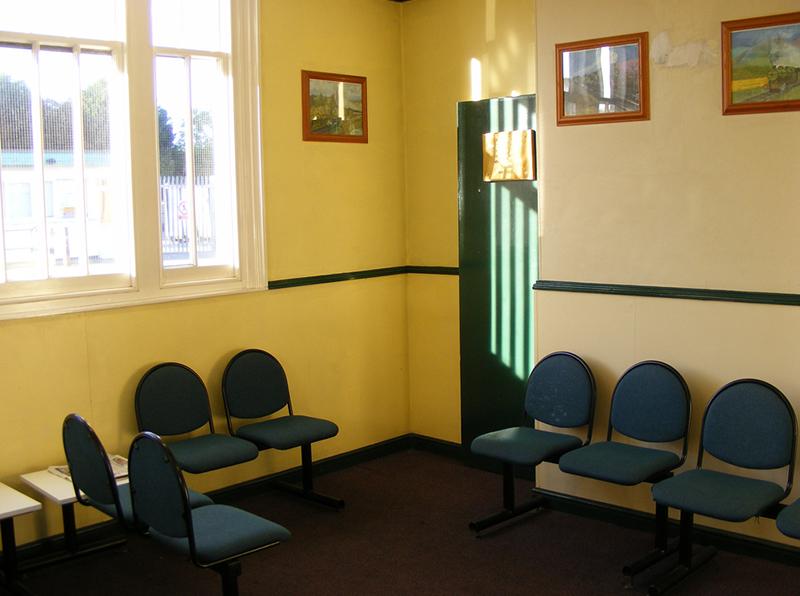 """Totnes Waiting Room"", by relex109.com, via   Flickr"