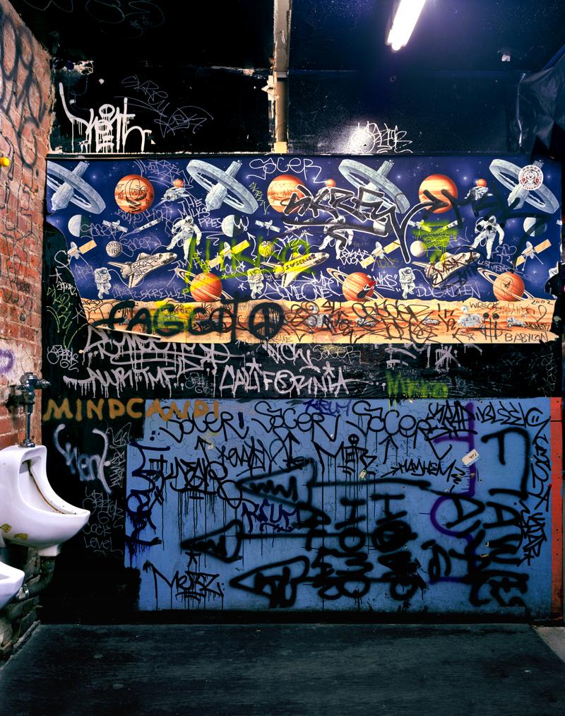 THE COCK: Bathroom View #1, New York, NY, USA, 2002