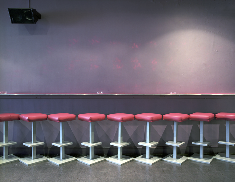 G.A.Y.: Pink Barstools, London, UK, 2003