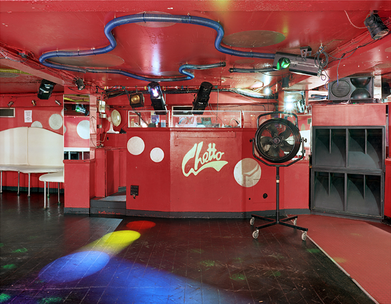 GHETTO: Red DJ Booth, London, UK, 2003