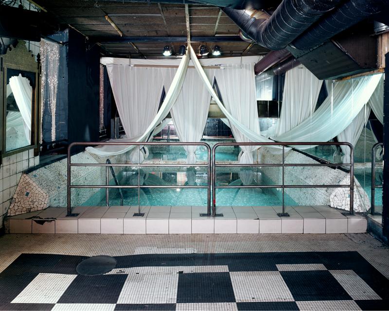 LES BAINS: Friday Night Swimming Pool, Paris, France, 2003