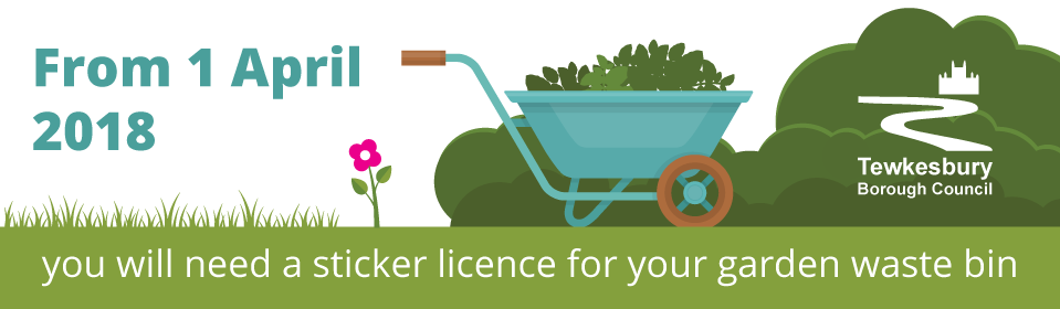 Order your garden waste bin stickers