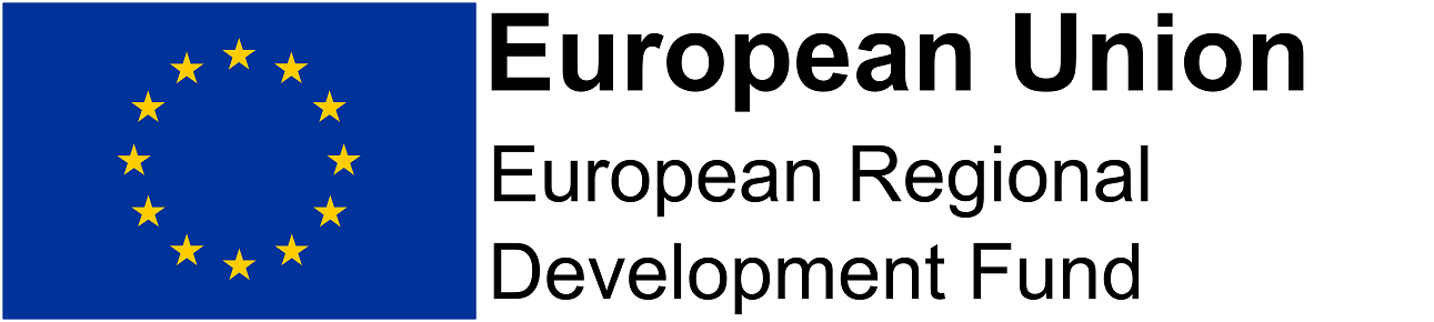 - Part-funded by the European Regional Development Fund