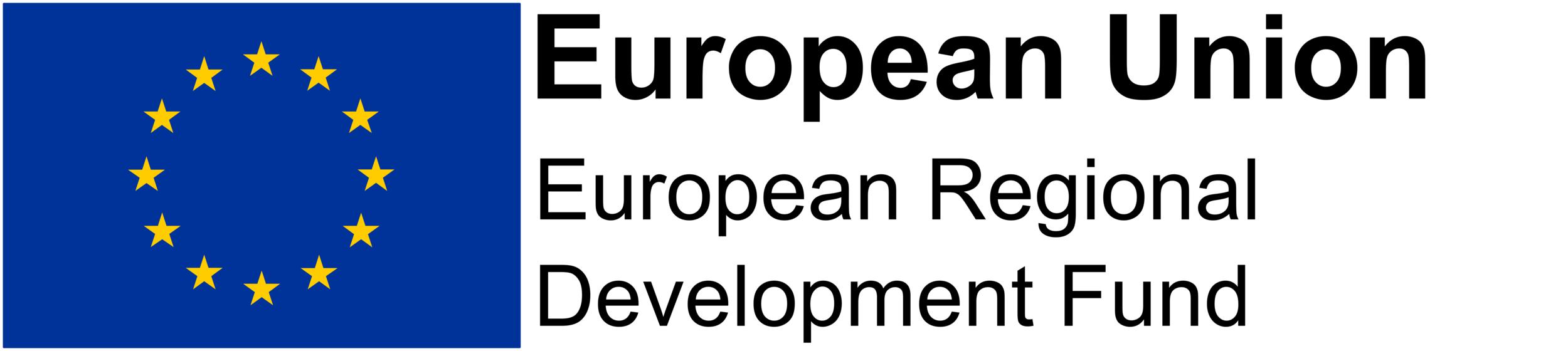 - Part-funded by European Regional Development Fund