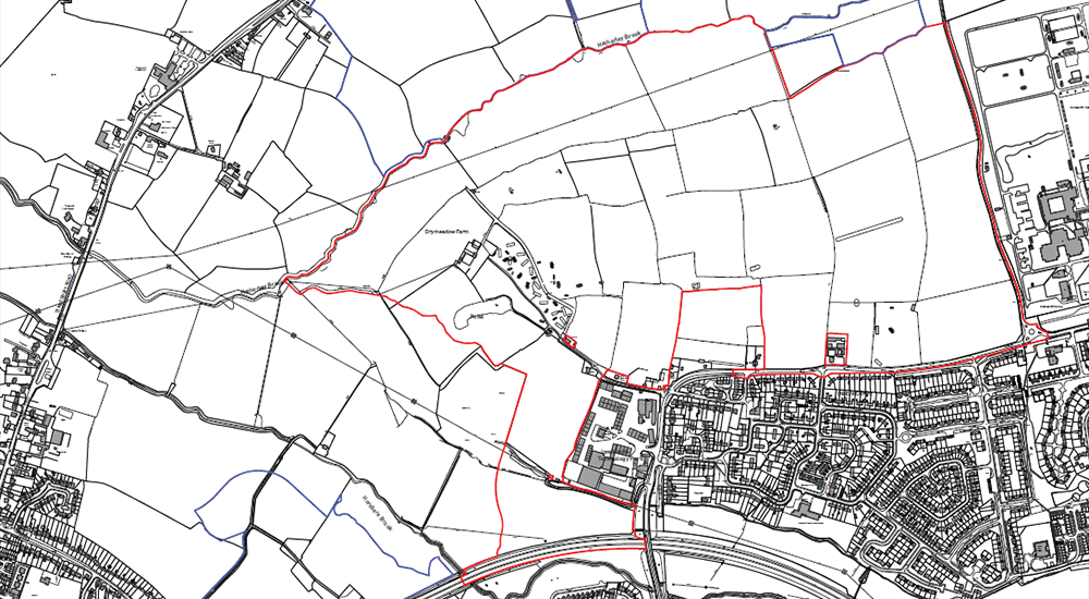 Innsworth site location map