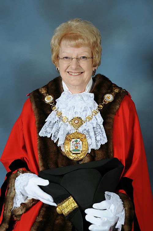 Mayor Gill Blackwell