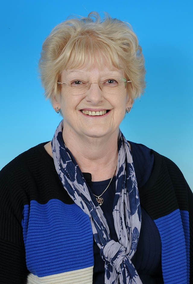 Councillor Gill Blackwell - photo courtesy of Posers Photographic
