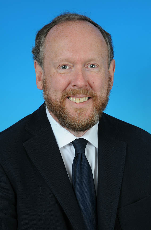 Councillor David Gray - photo courtesy of Posers Photographic
