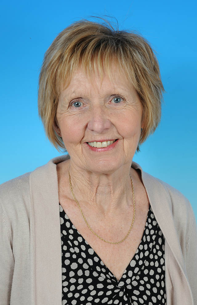 Councillor Mary Jordan - photo courtesy of Posers Photographic