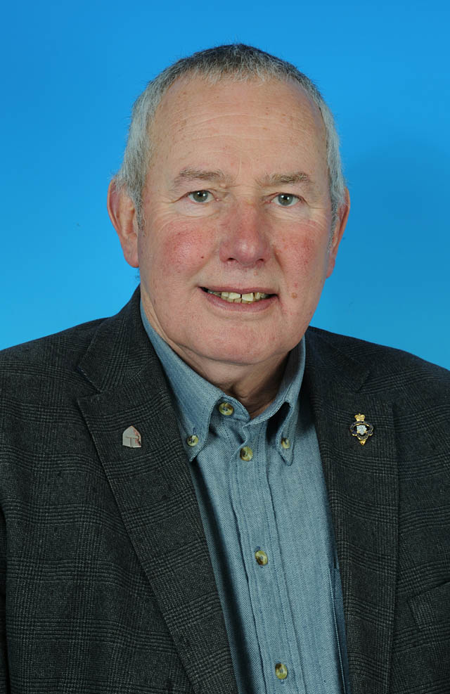 Councillor Jim Mason - photo courtesy of Posers Photographic