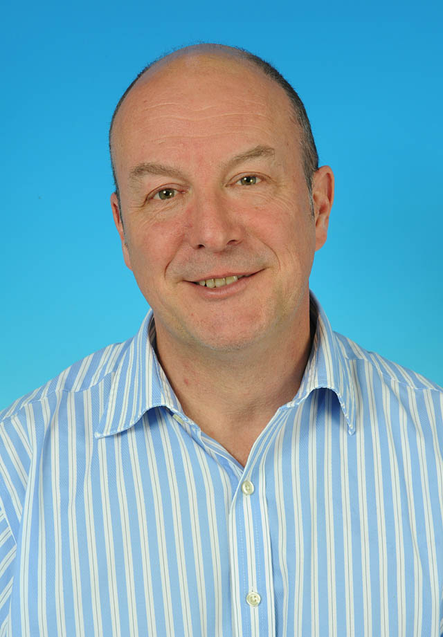 Councillor Paul Mclain - photo courtesy of Posers Photographic
