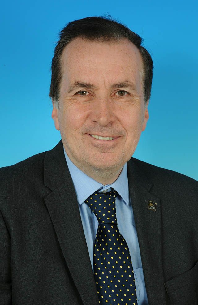 Councillor Paul Smith - photo courtesy of Posers Photographic