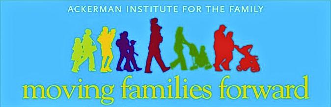 hoto Courtesy of  The Ackerman Institute   Logo for the Ackerman Institute's Moving Families Forward Program.