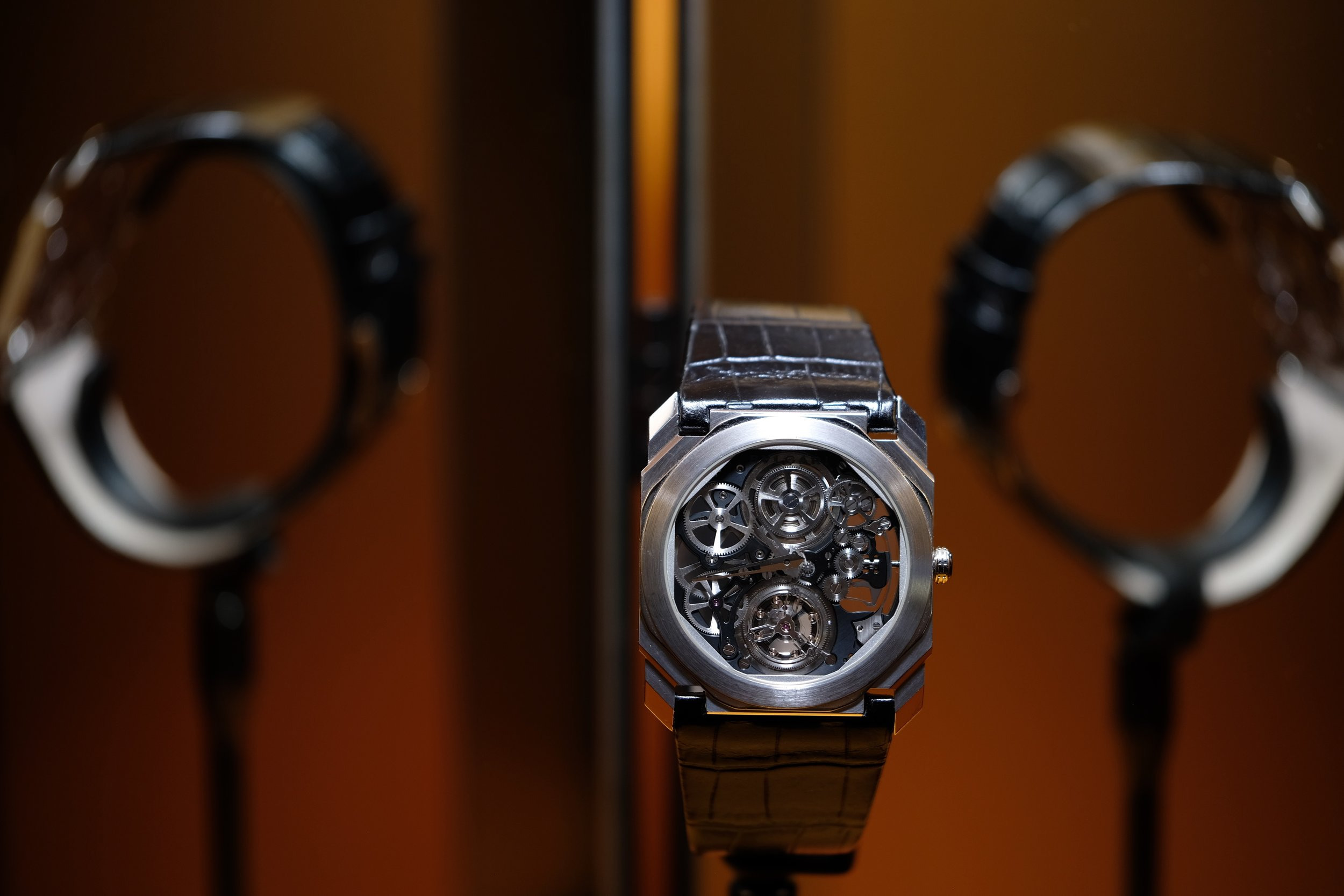 PHOTO COURTESY OF THE RIVERDALE REVIEW   THE NEW  BVLGARI OCTO FINISSIMO TOURBILLON AUTOMATIC
