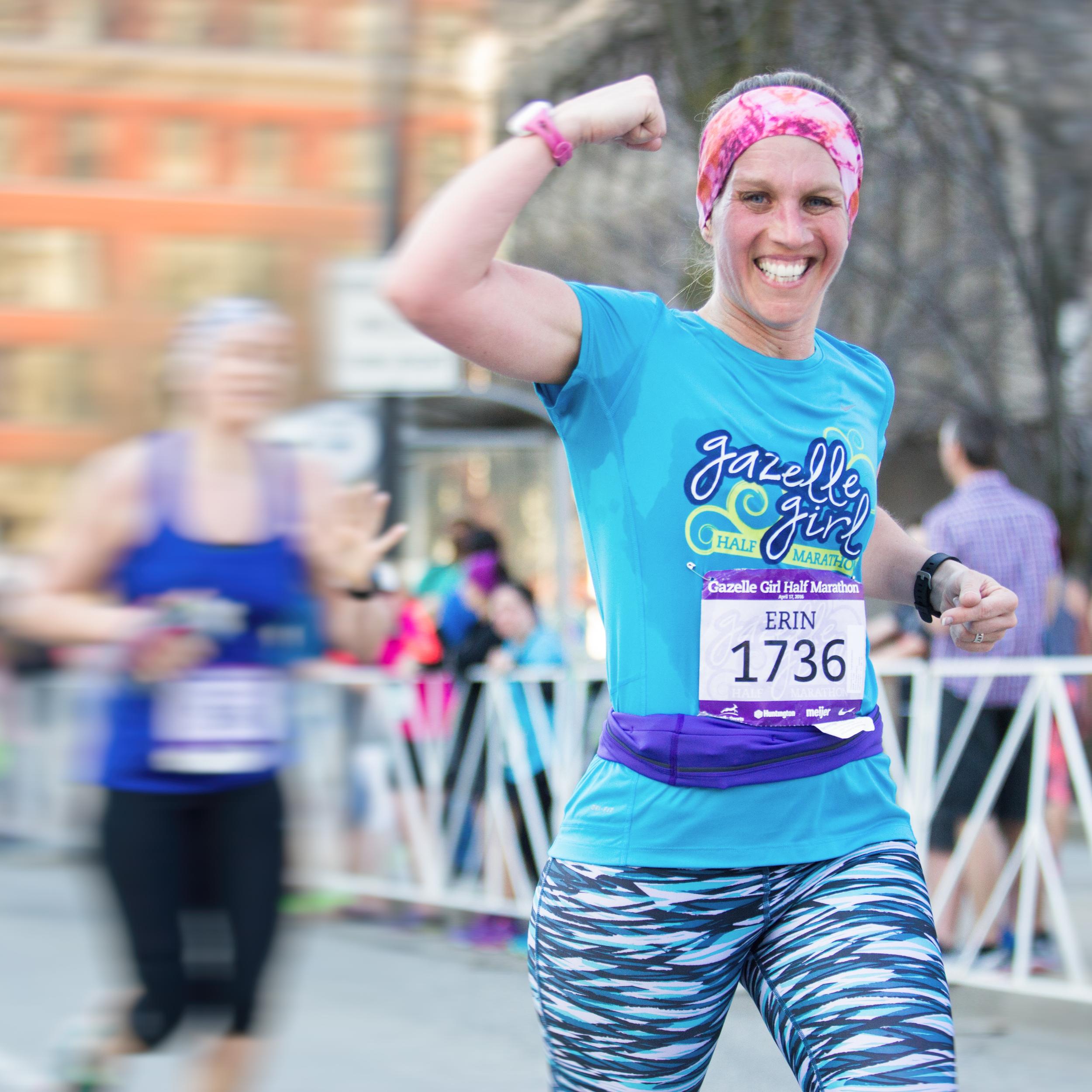 Gazelle Girl  1/2 Marathon