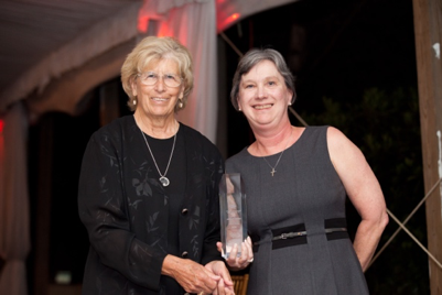 From left to right: Lois Bryant (NP, Board Chair of Good Samaritan Health & Wellness Center);Archdeacon Carole Maddux