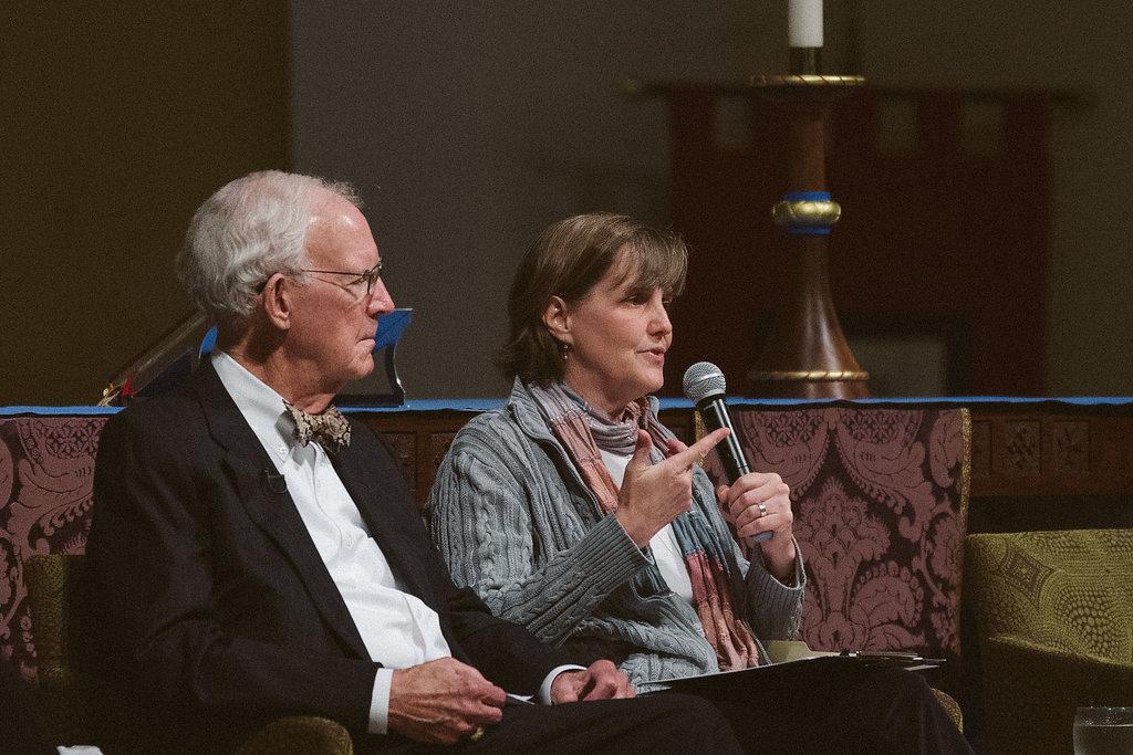 Justice Norman Fletcher and Susan Casey