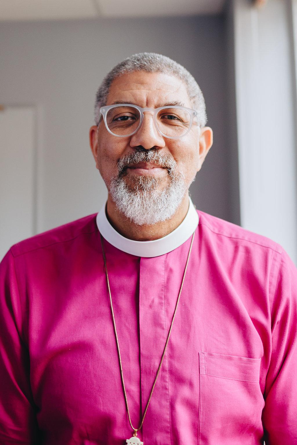 I challenge myself to give up blame.  – Bishop Robert Wright