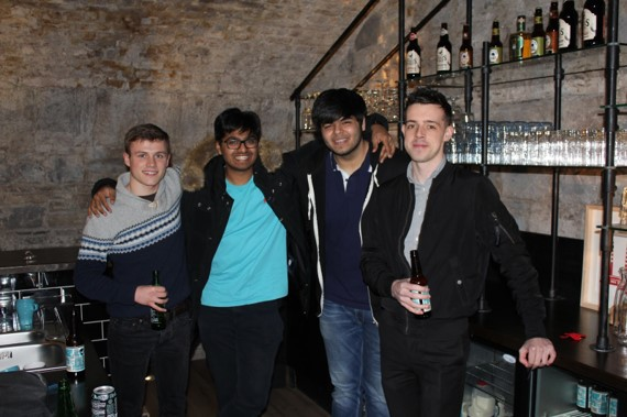Sumer Jagda helps to manage these and our flagship hackathon event in Dublin.