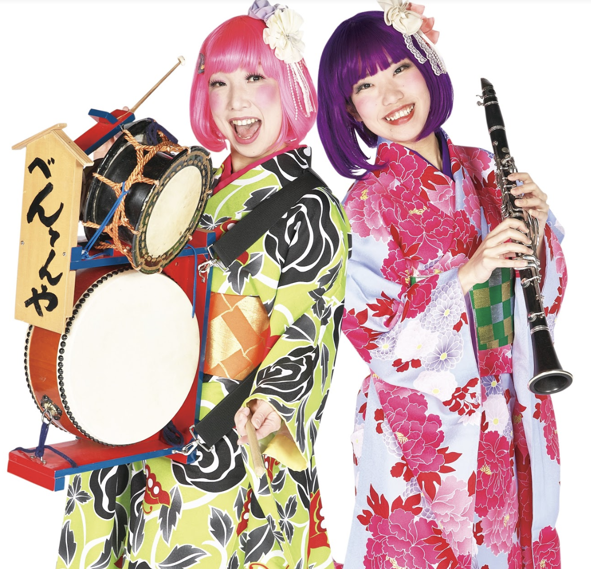 BENTENYA - Bentenya is one of the few professional femaleChindon-ya in Japan, a kind of marching banddedicated to street advertising who also performsat events or matsuri.