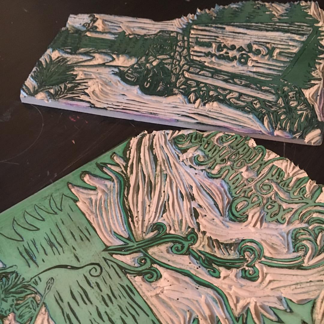 Puddle Jumpin' Cards at Rural Craft Revival