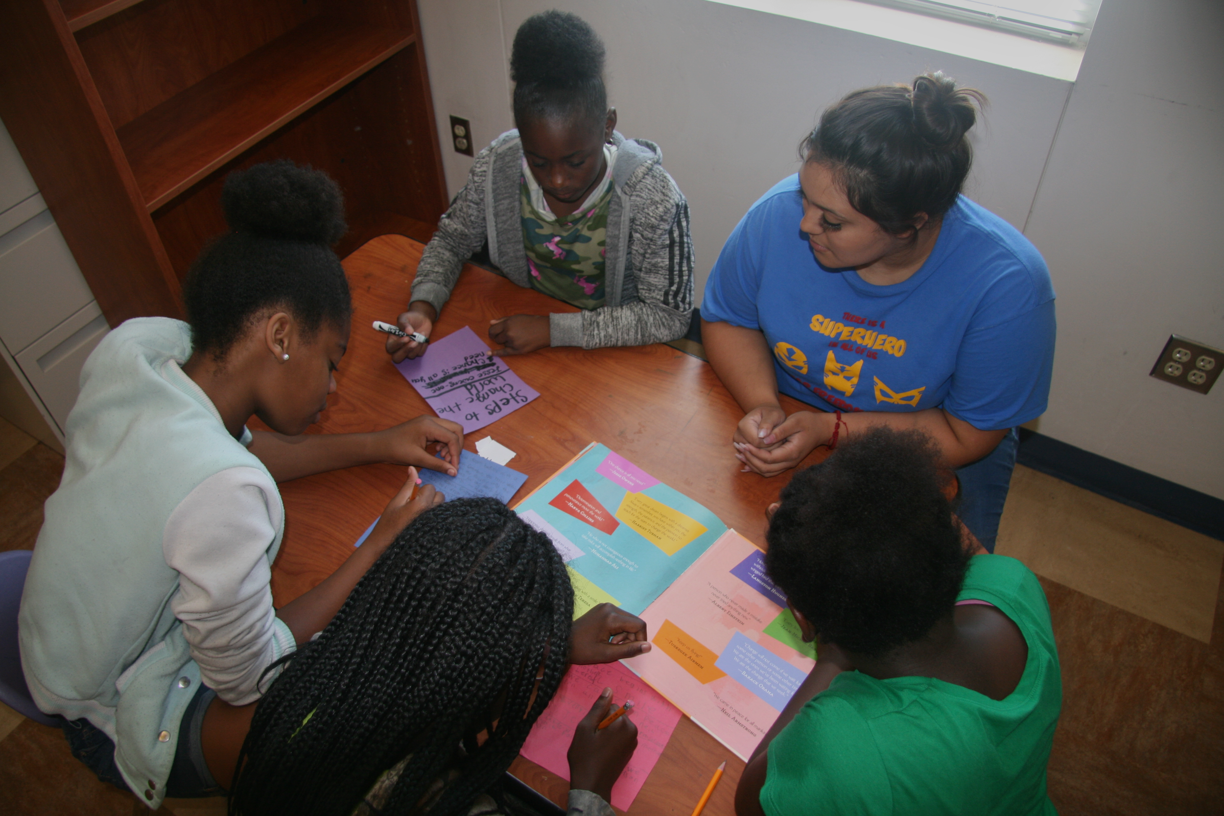 Developing student leaders at Freedom School - August 1, 2019