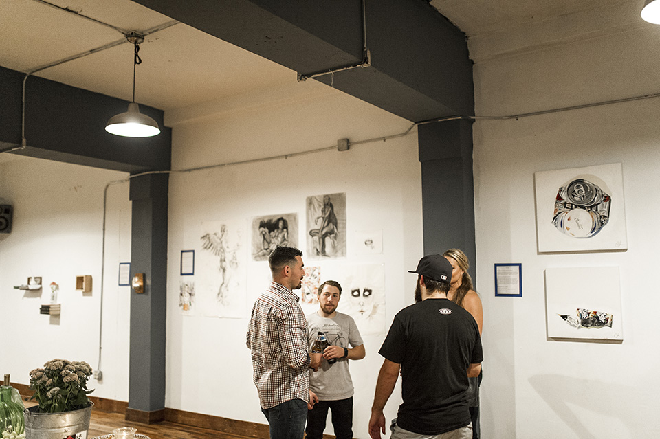 Art Show at Downtown Yoga