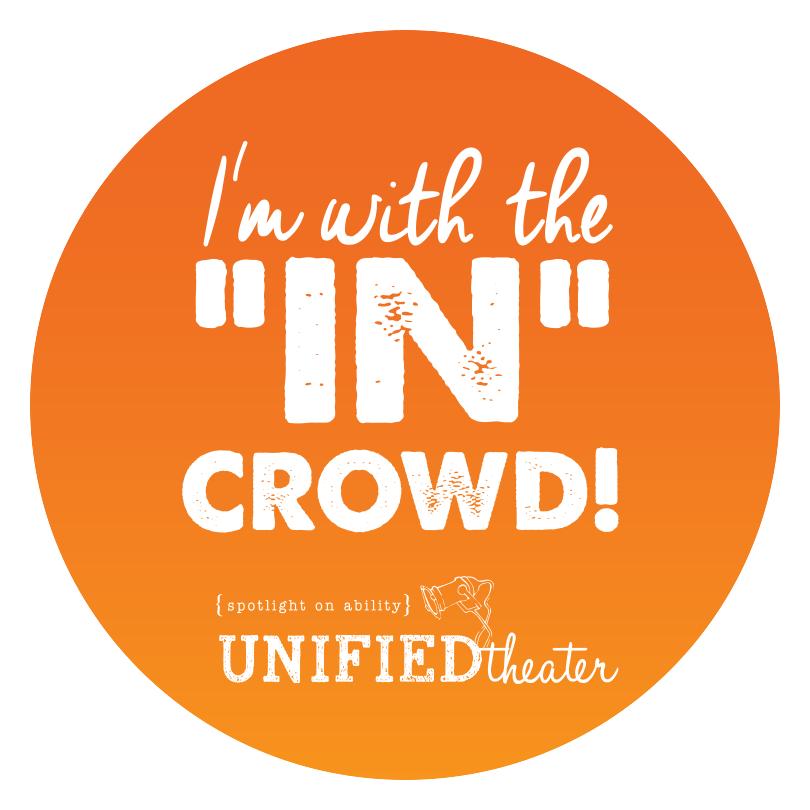 """""""In"""" Crowd Sticker"""