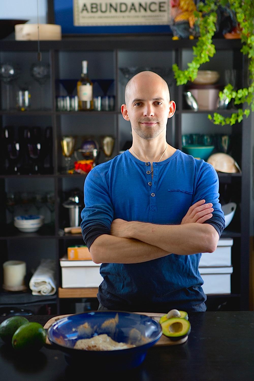 Jay Denman JingSlinger in Kitchen