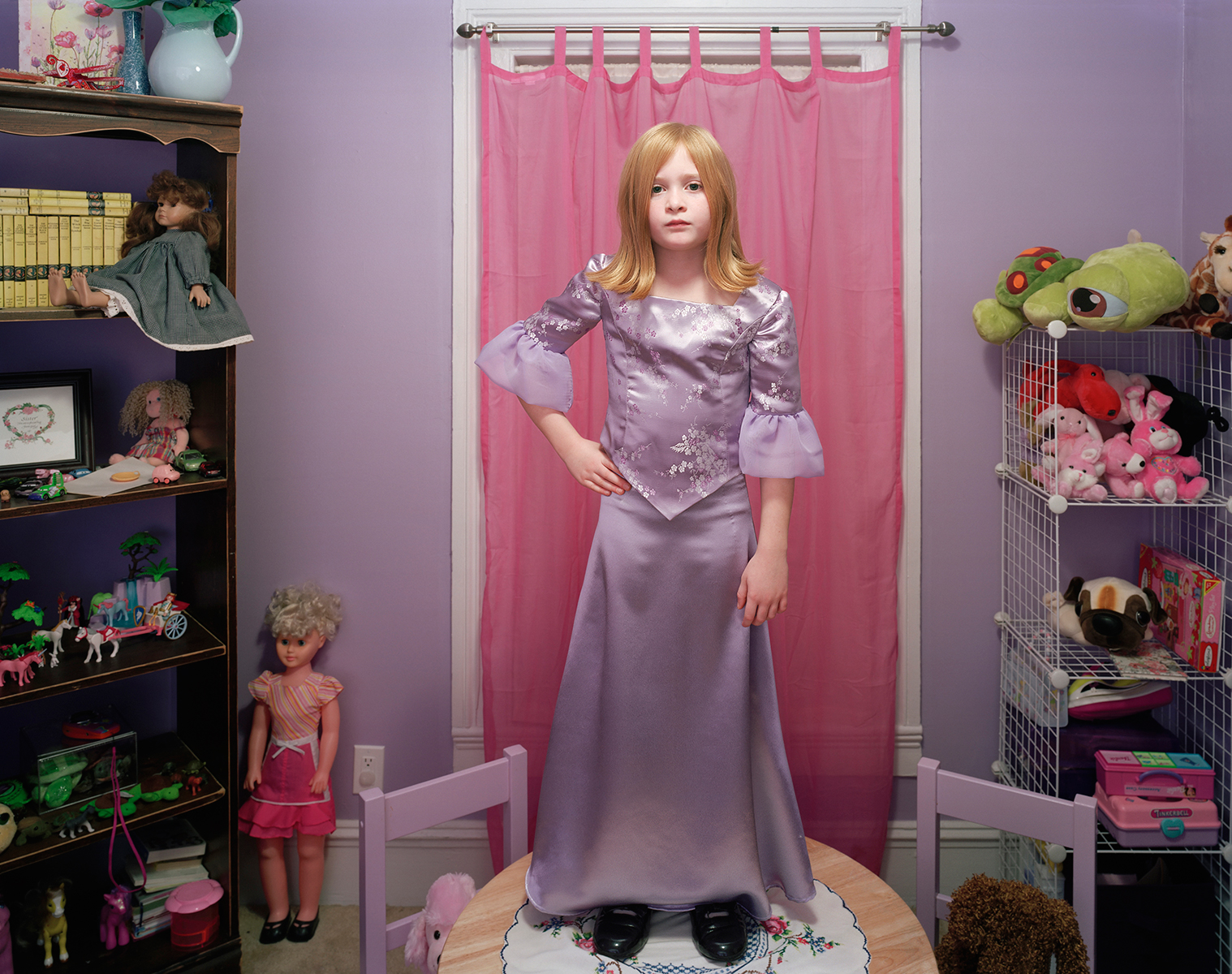 20 Untitled (Savannah as Doll)