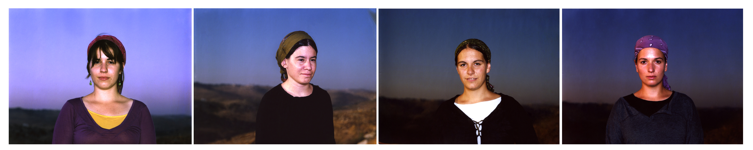 The Otniel Wife (Polaroid Test), 2010