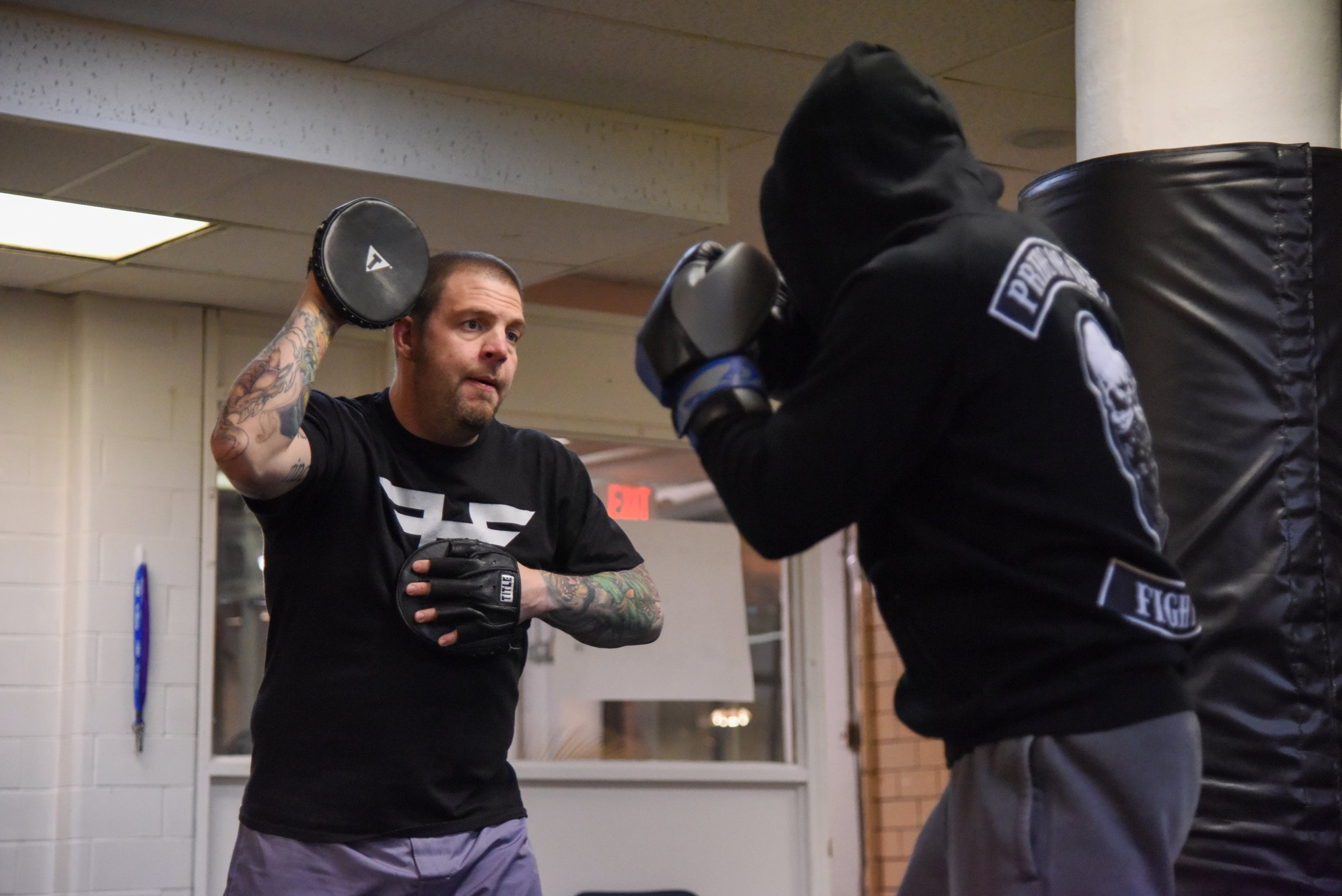 Mitt Madness - Come spend a fast-paced hour working with a partner working your striking, footwork, head movement, etc., but with a focus on breaking a sweat and burning some calories. No experience necessary!Boxing gloves are required for members.