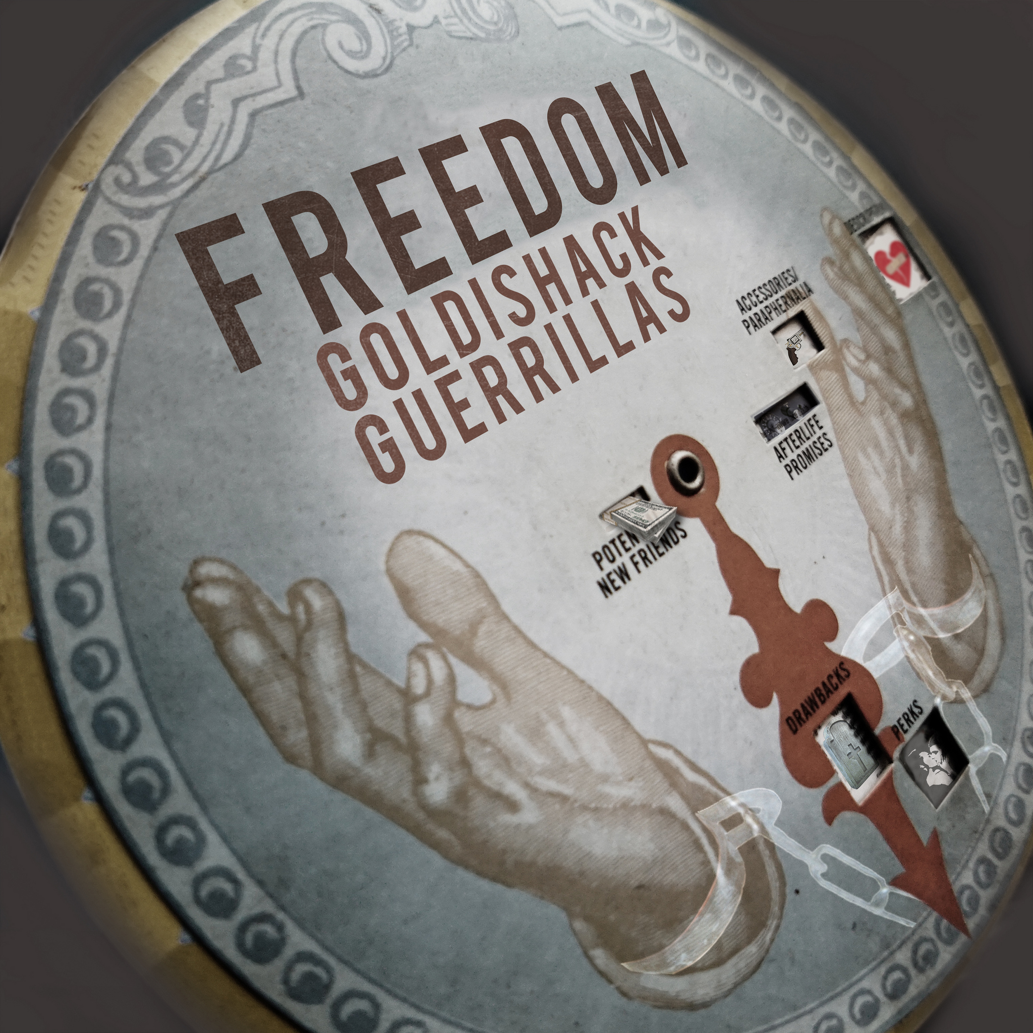 GOLDISHACK GUERRILLAS freedom cover
